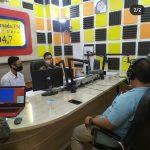 SAT INTELKAM POLRES BANJARBARU MELAKUKAN DIALOG PERASADA DI RADIO PERSADA FM